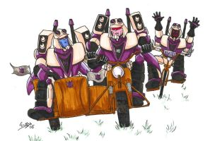 Sidecar racing by eabevella