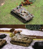 Repainted Panzer 4 by DasMarc