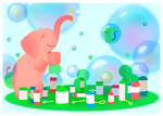 Bubble Party by MoraSanders