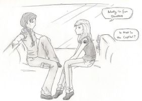 Tris and Katniss meet. by chrysalisgrey