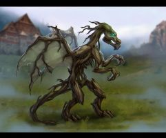 Tree Dragon by Alkven