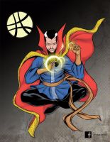 Doctor Strange SDCC souvenirbook by mdavidct
