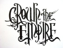Crown The Empire Logo by dragonsnap24