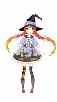 Halloween Adopt [closed][Auction] by yuki-white