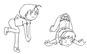 Paperchildren: Pewds and Cry (normal) by Lillyanna333