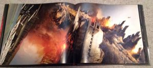 Godzilla Art of Destruction interior awesomeness by Legrandzilla