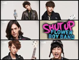 Shut Up! Flower Boy Band by BoBia96