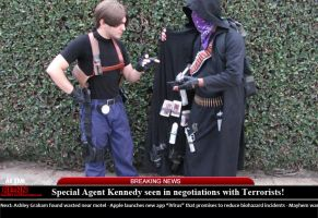 Leon S. Kennedy Flagged in illicit activities by IKevinXSer