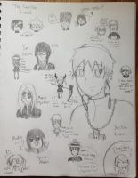 Aimless Soul Eater Doodles by Prussianess