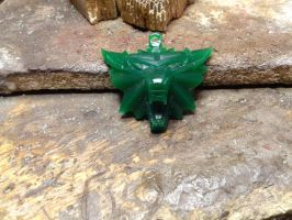 The witcher pendant wax by Debals