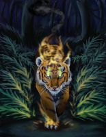 Tyger, Tyger, burning bright by nienor