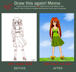 Improvement Meme: Meadow Girl by Ela-chan7