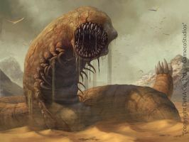 Sandworm by LozanoX