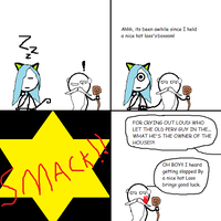 Stick dude comix 27 --- introducing The Sage by TheGame22q