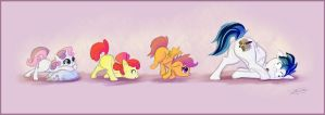 Trail of Butts by Pimander1446