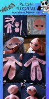 Kind of a plush tutorial by nitanita