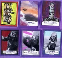 Galactic Files 2 Topps Sketch Cards by kettleart