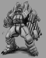 Riot Mech by Greenstuff-Alex