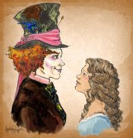 Alice and the Hatter by Fabalvala
