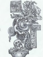 mayan vision serpent by translucent-paint