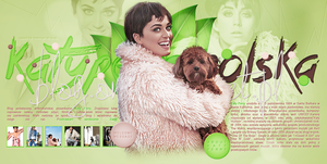 Ordered layout with Katy Perry by redesignbea