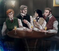 Victorian night out by Y-n-Y