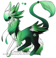 CLOSED - Shamrock Morokae by AcidicAdopts
