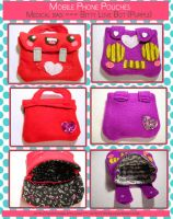 Pouch Designs Part One by tedsie
