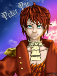Peter Pan in Scarlet by Yumi-Chan7