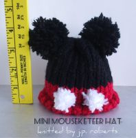 Mini mouse hat by LaughingAndroid