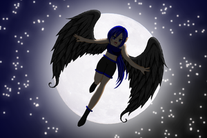 Angel in The Night by LyraTheCat101