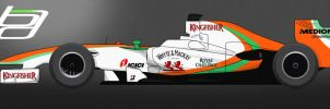 F1 Force India Livery by brandonseaber