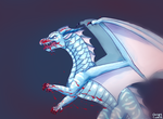 (with blood!) SPOILERS I'm the SeaWing Animus by ChrispyCookie
