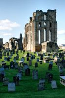 Tynemouth Priory by Robalka