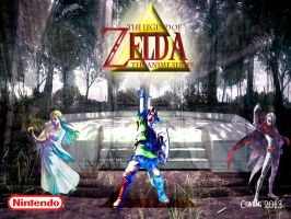 Zelda Anime offical Poster II by Steamland