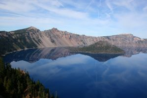 Crater Lake by Pecetta