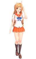 MMD - suenaga mirai  (Windows100 May2013) by luckylin