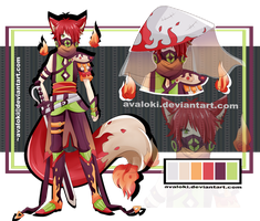 [CLOSED] Adopt 4 - Gass masked boy - AUCTION by Avaloki