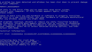 False Blue Screen of Death 20150505 by Ragingwasabi