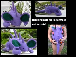 nidokingmole for ferianmoon by pokemoles