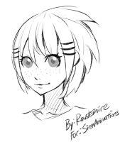 Free Sketch - SirenAnimations by Rousteinire