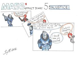 Mass Effect 1 Diary: 5 Injustice by sleepyhamsteri