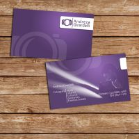 Andreza  Business card by DougAzevedo