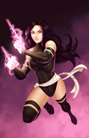 Collab: Psylocke by Durandus