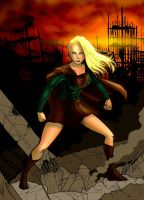 Supergirl by thorup