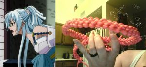 Practicing knot tying by Scruffypants