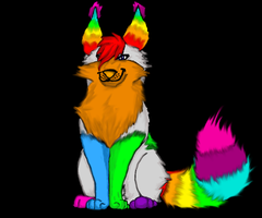 Contest Entry: Spectrum Kitty Artist by The-Lovestruck-Fox