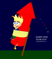 New Year 2014 - Johnny Test by JackassRulez95