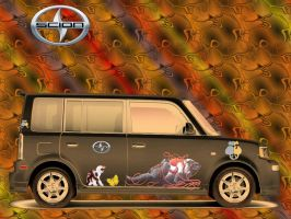 Scion - The Car for the Future by MzKitty45601