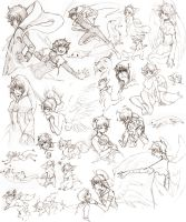 HS SKETCH DUMP: 10041201 by Zilleniose